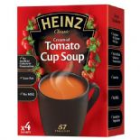 Heinz Cream Of Tomato Cup Soup x 4 88g